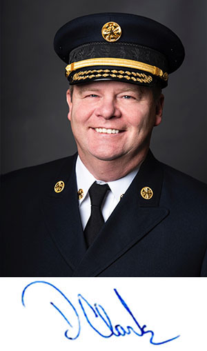 Fire Chief Dave Clark